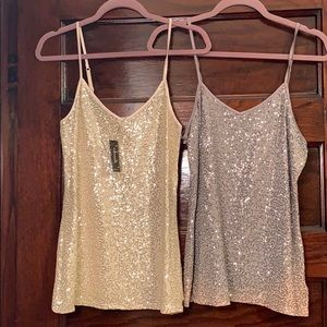 Express Sequin Camisoles